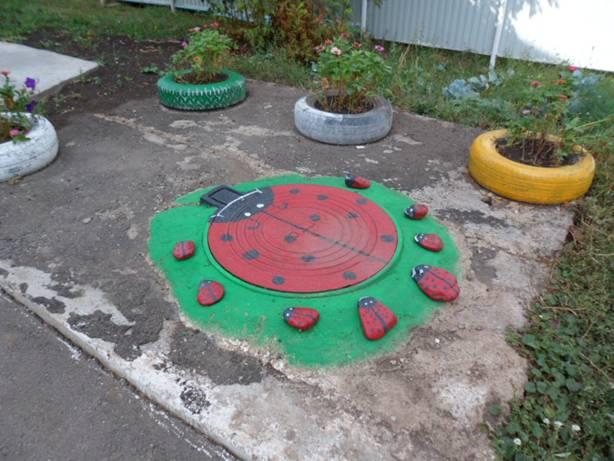 Оформление участка в детском саду своими руками на лето